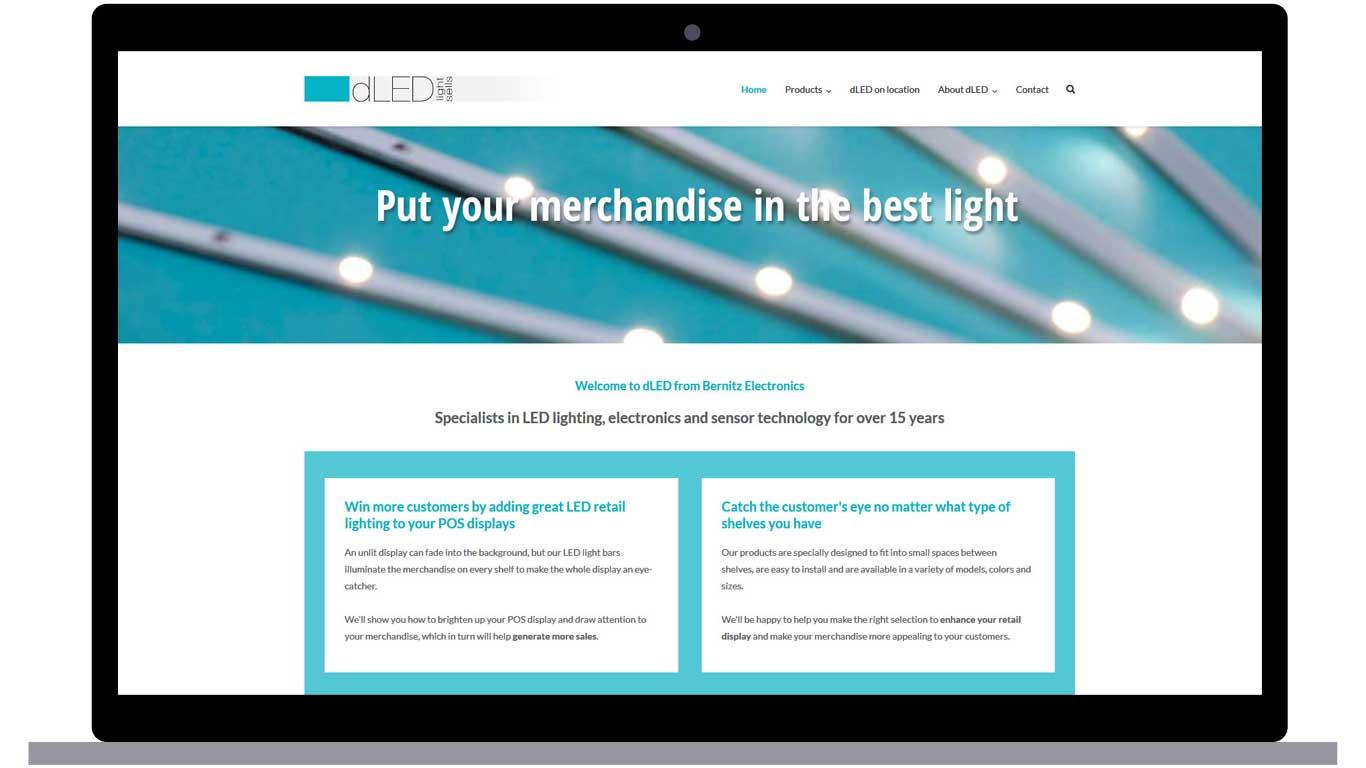 Startseite dLED Bernitz Electronics