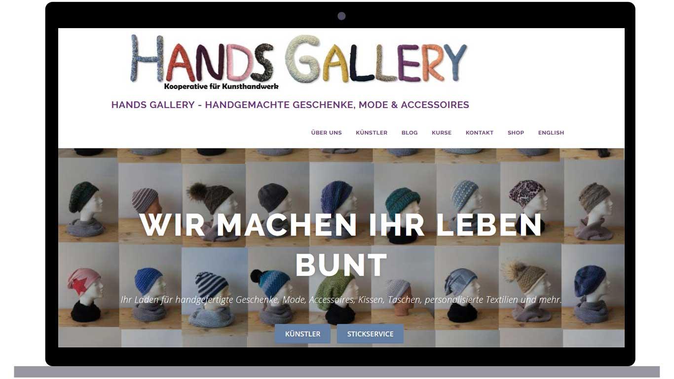 hands gallery header