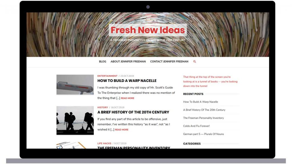 Fresh New Ideas Blog