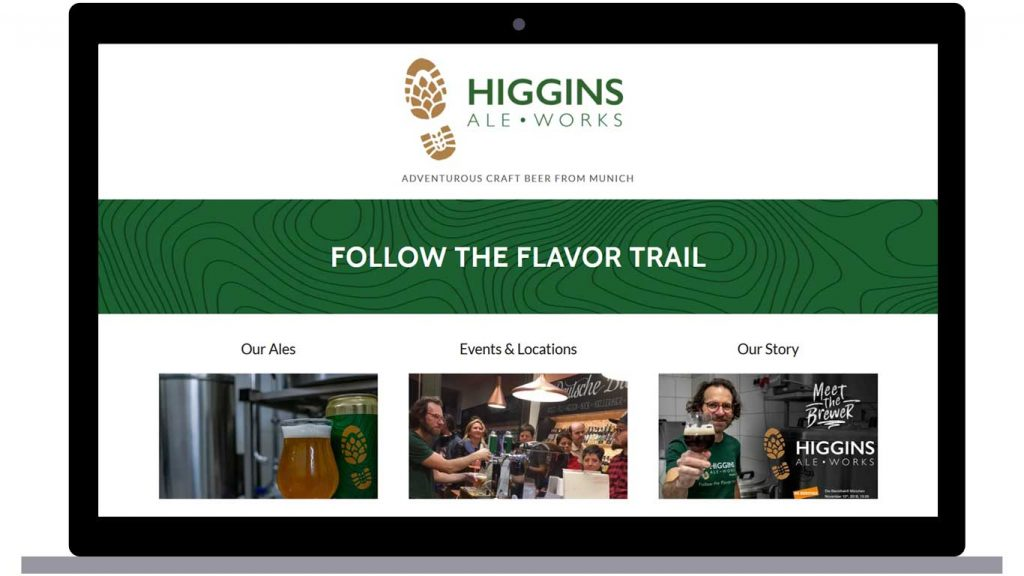 Higgins Ale Works Homepage